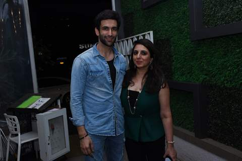 Nandish Singh and Munisha Khatwani