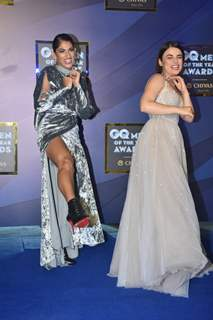 Kubbra Sait and Radhika Madan at GQ Men of the Year Awards!