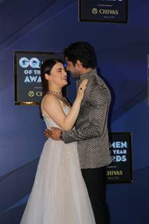 Radhika Madan and Abhimanyu Dasani at GQ Men of the Year Awards!