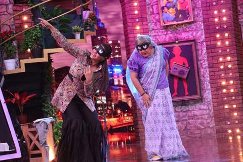 Ali Asgar and Kajol
