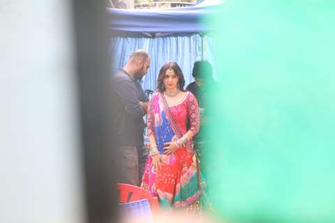Kiara Advani at the sets of Bhool Bhulaiya 2!