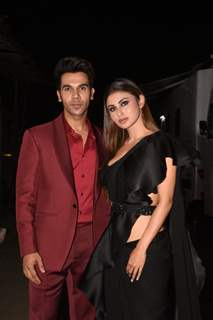 Rajkummar Rao and Mouni Roy spotted promoting their upcoming movie Made In China