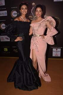 Erica Fernandes and Hina Khan
