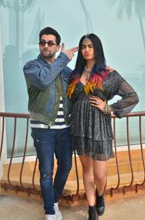 Neil Nitin Mukesh and Adah Sharma at the promotions of Bypass Road!