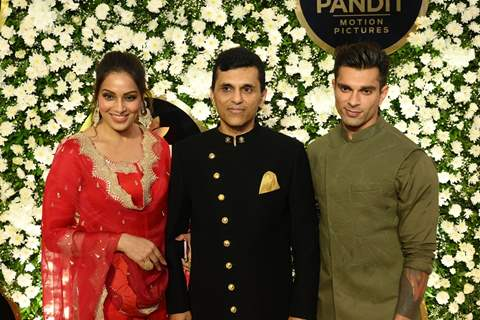 Bipasha and Karan with Anand Pandit