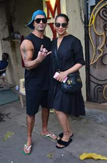Karan Singh Grover and Bipasha Basu snapped around the town!