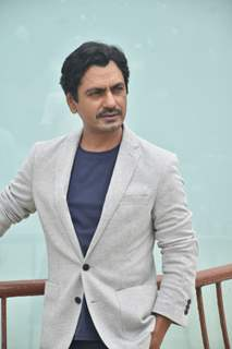 Nawazuddin Siddiqui at the promotions of Motichur Chaknachur!