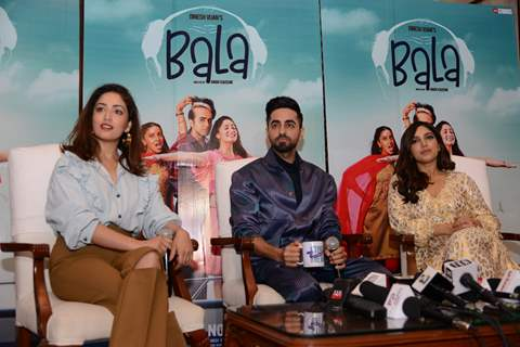Celebs snapped promoting Bala and Marjaavaan!