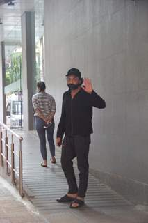 Bobby Deol papped outside a hospital