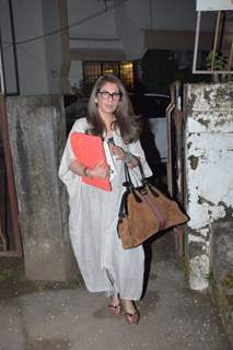 Dimple Kapadia papped around the town