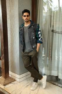 Sidharth Malhotra spotted during the promotions of Marjaavaan