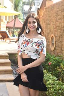 Kriti Kharbanda spotted during the promotions of Pagalpanti
