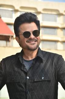 Anil Kapoor spotted during the promotions of Pagalpanti