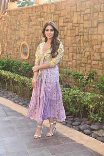 Ileana D'Cruz spotted during the promotions of Pagalpanti