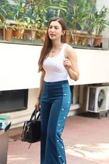 Gauahar Khan papped around the town