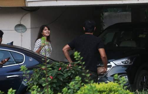Sushant Singh Rajput and Rhea Chakraborty