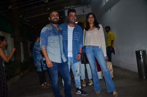 Amar Kaushik, Varun Sharma and Janhvi Kapoor