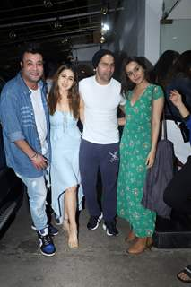 Varun Sharma, Sara Ali Khan, Varun Dhawan and Sharddha Kapoor
