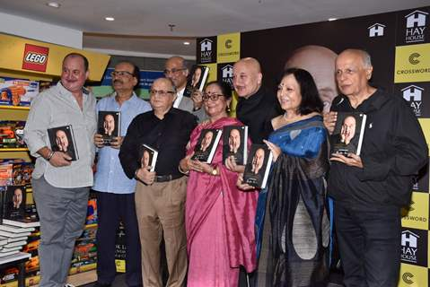 Anupam Kher launches his book