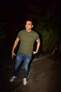 Arbaaz Khan papped around the town