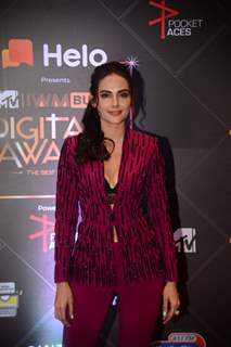 Mandana Karimi papped at MTV Digital Awards