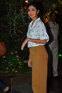Shilpa Shetty papped around the town