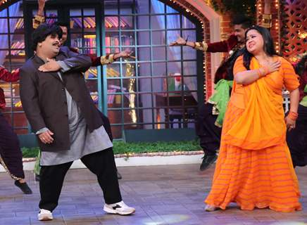 Kiku Sharda and Bharti Singh