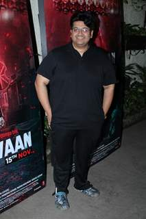 Milap Zaveri papped at Marjaavaan's special screening