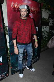 Maniesh Paul papped at Marjaavaan's special screening