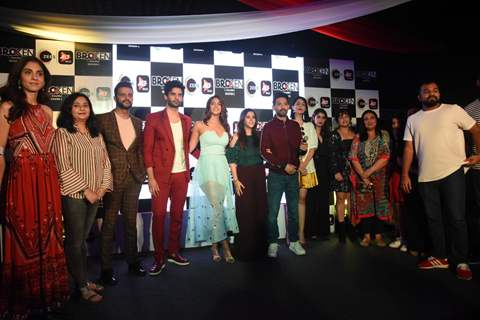 Ekta Kapoor, Aparna Achrekar, Vikrant Massey, Harleen Sethi with Broken 2 cast and crew