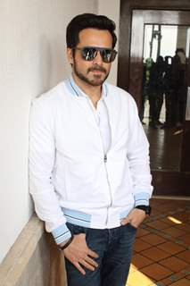 Emraan Hashmi promotes his upcoming movie The Body
