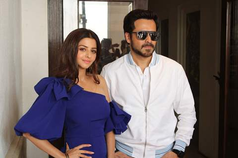 Vedhika Kumar and Emraan Hashmi promote their upcoming movie The Body