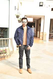 Emraan Hashmi during the promotions of The Body