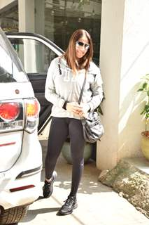 Bipasha Basu spotted around the town