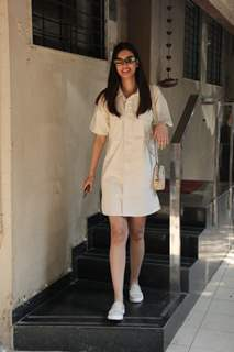 Diana Penty spotted around the town