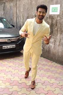Pulkit Samrat spotted outside Zee office in Andheri
