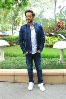 Emraan Hashmi spotted during the promotions of The Body