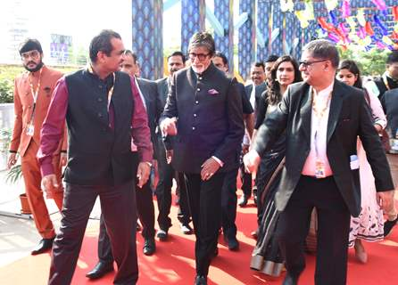 Amitabh Bachchan snapped during the inauguration of IFFI Goa 2019
