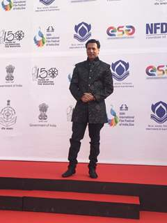 Madhur Bhandarkar snapped during the inauguration of IFFI Goa 2019