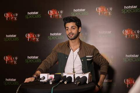 Karan Wahi at the red carpet screening event of Out of Love