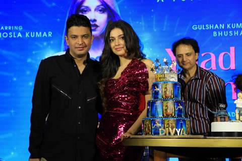 Bhushan Kumar and Divya Khosla Kumar at the Success Bash of Yaad Piya Ki Aane Lagi