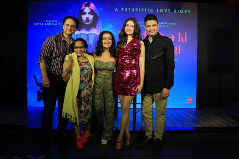 Bhushan Kumar, Divya Khosla Kumar and Neha Kakkar at the Success Bash of Yaad Piya Ki Aane Lagi