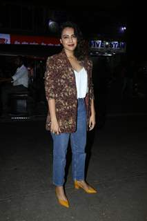 Celebrities snapped at Lean Kitchen by Maya