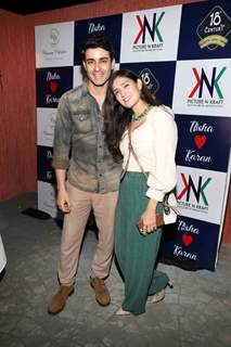 Gautam Rode with Pankhuri
