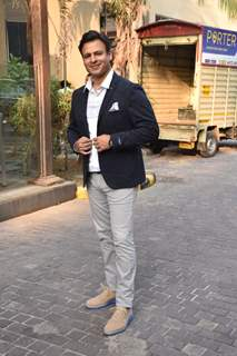 Vivek Oberoi at the promotions of Inside Edge 2