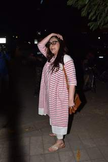 Amrita Singh snapped around the town