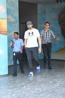 Sidharth Malhotra snapped around the town