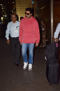 Abhishek Bachchan spotted at the airport