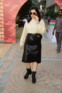 Urvashi Sharma at her sin Shivansh's birthday