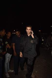 Karan Johar papped around the town